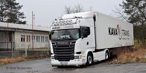 KAVA-TRANS Scania Frigo Doprava 3