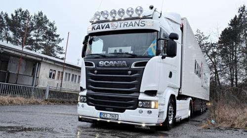 KAVA-TRANS Scania Frigo Doprava 2