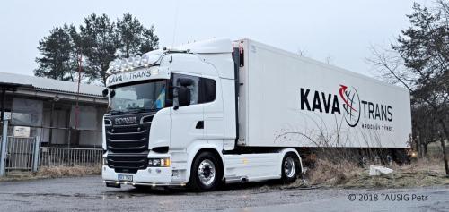 KAVA-TRANS Scania Frigo Doprava 1